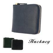 ハックニー Hackney 二つ折り財布 HK-800 【 ラウンドファスナー 財布 ブライドルレザー イタリアンレザー メンズ 】