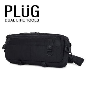 プラグ ボディバッグ PLG-303 Solid[bef][PO5]