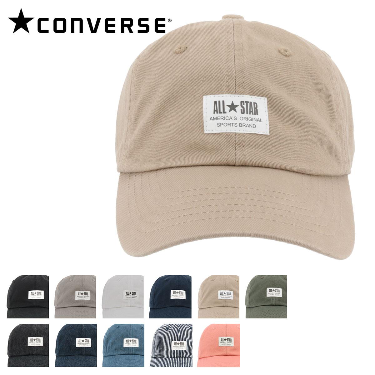 コンバース キャップ 187112702 CONVERSE 帽子 ローキャップ フロントパッチ コットン レディース メンズ[bef][即日発送]