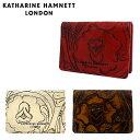 キャサリンハムネット パスケース KHP210 【 KATHARINE HAMNETT クラフト2 】【 カードケース 定期入れ レディース 革 レザー 】