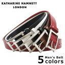 キャサリンハムネット ベルト KH-506028 【 KATHARINE HAMNETT 】【即日発送】