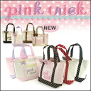 pinktrick ピンクトリック 送料無料pink trick ミニトートバッグ ドット柄 【 ランチバッグ ミニバッグ サブバッグ 】【 ピンクトリック 】 【jelly_maga】