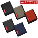 【エントリーで+9倍 16日9:59まで】マンハッタンパッセージ MANHATTAN PASSAGE 二つ折り財布 2310 フォールディングウォレット