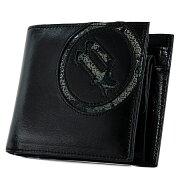 ポリス 二つ折り財布 PA5502 (0512) ブラック POLICE イーブン ベーシック 2つ折り[PO10][bef]