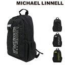 マイケルリンネル リュック 25L メンズML-026 MICHAEL LINNELL | リュックサック バックパック