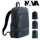 NAVA design リュック イージーアドバンス メンズ ED076 ナヴァデザイン Easy Advance|リュックサック バックパック デイパック ビジネスバッグ キャリーオン PCケース 15インチ RFID[PO10][即日発送]