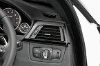 BMW3シリーズ (F30/F31/F34)【カーボン・ダッシュパネルR 2X2 綾織りマットブラック】(運転席側)