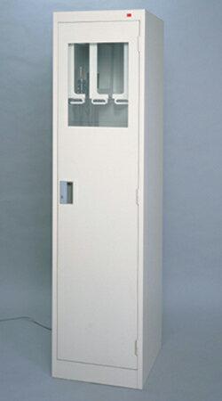 【代金引換不可】内視鏡キャビネット(6本架け・空気殺菌器付き)DM-FSA-6