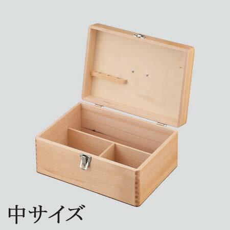 【木製救急箱 中サイズ】の紹介画像2