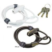 GP(ギザプロダクツ) WL143 ダブルループ ロック/WL143 Double Loop Lock [LKW169]【鍵式】【ストレートケーブル】【GIZA PRODUCTS】の画像