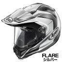 Arai TOUR-CROSS3 ヘルメット FLARE【フレア・シルバー】【アライ オフロードヘルメット MXヘルメット ツアークロス3 バイク用】【smtb-k】