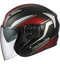 OGKカブト EXCEED ヘルメット DEUCE【フラットブラック】【オージーケーカブト バイク用 ジェットヘルメット エクシード デュース】【smtb-k】