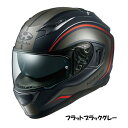OGKカブト KAMUI-3 ヘルメット KNACK【フラットブラックグレー】【オージーケーカブト バイク用 フルフェイスヘルメット カムイ3 ナック】【smtb-k】
