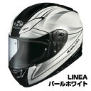 OGKカブト Aeroblade3 ヘルメット LINEA【パールホワイト】【オージーケーカブト バイク用 フルフェイスヘルメット エアロブレード3 aeroblade-III】【smtb-k】