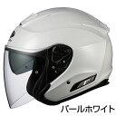 OGKカブト ASAGI ヘルメット 【パールホワイト】【オージーケーカブト バイク用 ジェットヘルメット アサギ】【smtb-k】
