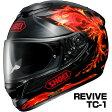 SHOEI GT-Air ヘルメット REVIVE【TC-1 ブラック×レッド】【ショウエイ バイク用 フルフェイスヘルメット GTエアー リヴァイヴ】【smtb-k】