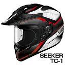 SHOEI HORNET-ADV ヘルメット SEEKER 【TC-1レッド×ブラック】【ショウエイ バイク用 オフロードヘルメット ショーエ…
