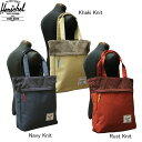 Herschel Supply Company Knitted Collection HARVEST TOTE BAG 【ハーシェル ハーチェル ハーベスト トートバック】