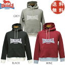 LONSDALE CLASSIC LOGO BASIC PULLOVER SWEAT PARKA【ロンズデール スエット パーカ パーカー】