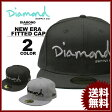 Diamond SUPPLY CO. OG SCRIPT FITTED NEW ERA CAP【ダイヤモンドサプライ ニューエラー キャップ 帽子】