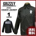 グリズリー GRIZZLY OG BEAR/STAMP COACH JACKET ナイロン コーチジャケット 日本別注