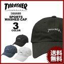 営業日即日発送 送料無料 スラッシャー THRASHER GONZ MAG SPORTS WASHED CAP【キャップ 帽子 コットンキャップ ローキャップ】