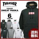 スラッシャー THRASHER スエット パーカー BOX MAG SWEAT PARKA フードスエット メンズ レディース ブラック 黒 グレー ホワイト ...