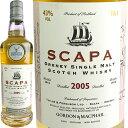 Gordon & MacPhail Distillery Scapa [2005] / ゴードン&マクファイル 蒸留所ラベル スキャパ [SW]