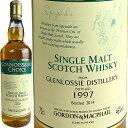 Gordon & MacPhail Connoisseurs Glenlossie [1997] / ゴードン&マクファイル コニサーズチョイス グレンロッシー [SW]