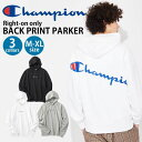 Champion 『ライトオン限定』バックプリントパーカー メンズRight-on,ライトオン,C8-Q114R,Champion,チャンピオン