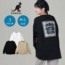 KANGOL ペイズリーボックスプリントロンT ウィメンズRight-on,ライトオン,KPLC-00066,KANGOL,カンゴール