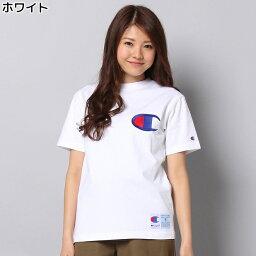 デカロゴTシャツ ウィメンズRight-onライトオンC3-F362SSCHAMPIONチャンピオン