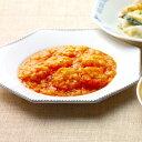 ピリッと甘辛いソースで仕上げたエビチリ。
