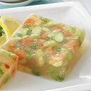 スモークサーモントラウトと枝豆のゼリー寄せ(冷凍便) リーガロイヤルホテル 冷たい 総菜 惣菜