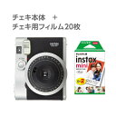 FUJIFILM / ������ ���� INSTAX MINI90 �ͥ����饷�å� + �������ѥե���� 20���10������2�ѥå��˥��å� [INSTAX-MINI90-NC/INSTAX-MINI-WW-2]