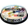 ライテック製 / RiTEK / 音楽用CD-R / 10枚パック[CD-RMU80.10SP A]※【02P27May16】