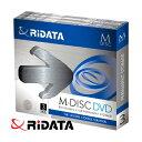 M-DISC DVD 3枚パック 4.7GB 4倍速 M-DVD4.7GB.PW3P RiDATA