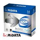 M-DISC DVD 10枚パック 4.7GB 4倍速 M-DVD4.7GB.PW10P RiDATA