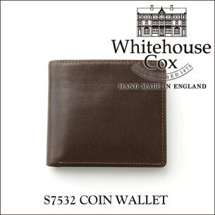 ホワイトハウス コックス コインケース ブライドルレザー ブラウン Whitehouse