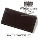 【正規品】ホワイトハウスコックス 2つ折り長財布 S9697L/LONG WALLETブライドルレザー/HAVANA ハバナ(ダークブラウン)【Whitehouse Cox/ホワイトハウスコックス】【あす楽対応_関東】