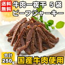 【送料無料】牛肉一夜干 5袋セット ソフ