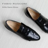 FABIO RUSCONI ファビオルスコーニ キルトオペラシューズ SIM-3097