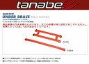 エルグランド(TE52)(10/8〜)下記詳細要確認Tanabe(サスティクアンダーブレース)フロントとリアSET品
