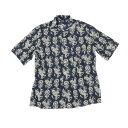 BAGUTTA バグッタオープンカラーシャツ[ネイビー]