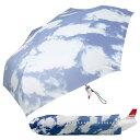 ジャンボ ジェット機 の折畳傘 雨が降っても晴れ模様のスカイ アンブレラ