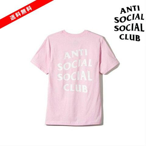 【公式 正規品】ASSC Pink Logo TWO Tee サイズ XS/S/M/L/XL/XXLAnti Social Social Club Tシャツ ピンク ロゴT