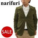 【SALE/50%OFF 半額】narifuri(ナリフリ) キルティス 2B ジャケット[全3色]メンズ(男性用)【服】_11212F(ripe)【送料無料】【あす楽】レビューを書いて500円クーポンGET!