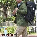 narifuri(ナリフリ) バックパック M[ブラック/シルバー]ユニセックス(男女兼用)【鞄】_11210F(ripe)【送料無料】【あす楽】