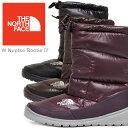 ◆2012-2013年秋冬モデル◆THE NORTH FACE W NUPTSE BOOTIE IV (NFW01271)[全4色]【送料無料】ノースフェイス ウィメンズ ヌプシブーティ4 レディース(女性用)【靴】_11210F(ripe)