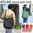 Coleman ATLAS SHOULDER TOTE[全5色]コールマン アトラス ショルダートートユニセックス(男女兼用)【鞄】_11503E(ripe)【あす楽】